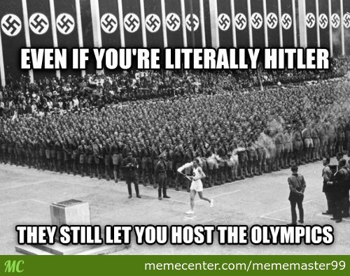 To Those People Who Think Russia Can't Host The 2014 Winter Olympics Due To Human Violent Rights