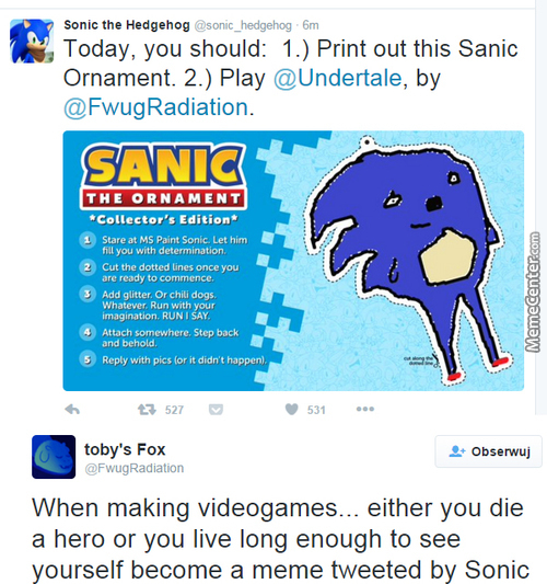 Toby Fox, The Hero Gaming Industry Needs, But Doesn`t Really Deserve