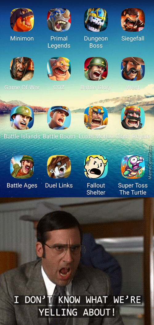 Today's Mobile Games Summed Up