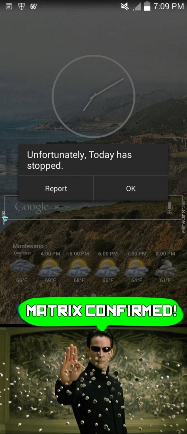 Today.exe Has Stopped Working...