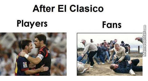 Image result for El Clasico funny