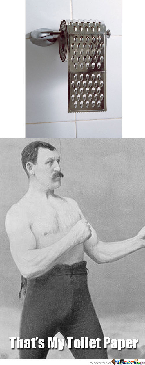 Toilet Paper For. . . .