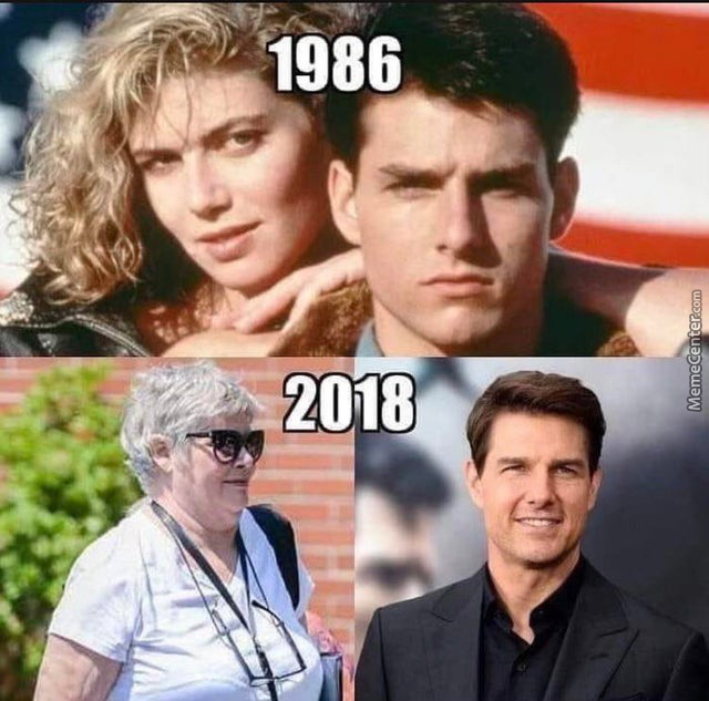 Tom Cruise Never Be Ageing