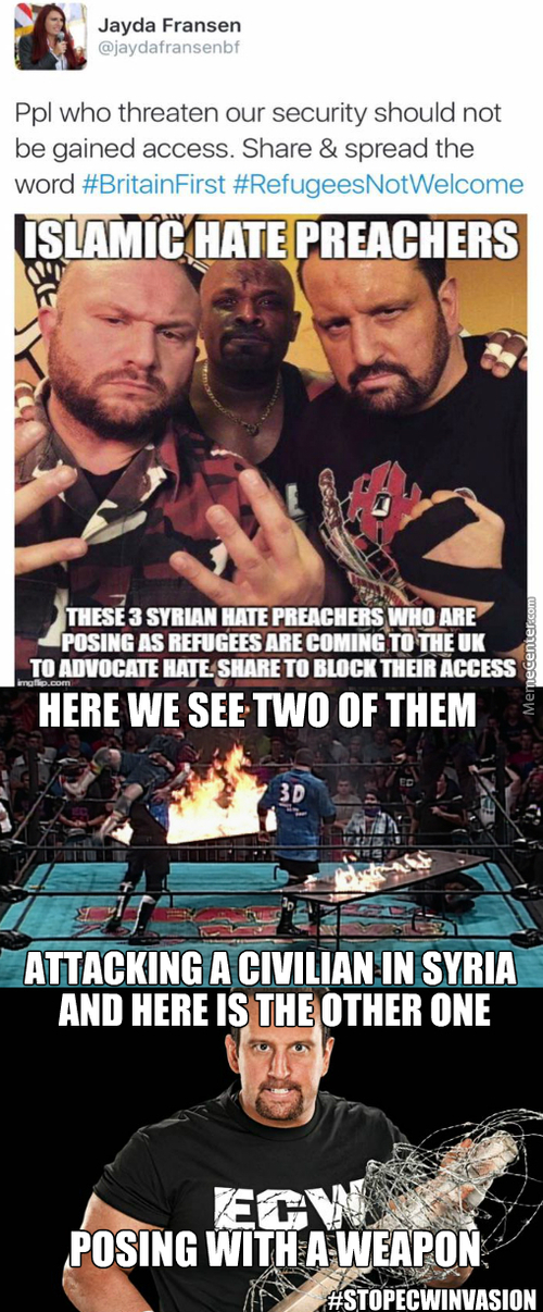 """Tommy Dreamer Blows Himself Up, People Start Chanting """"he's Hardcore, He's Hardcore!"""""""