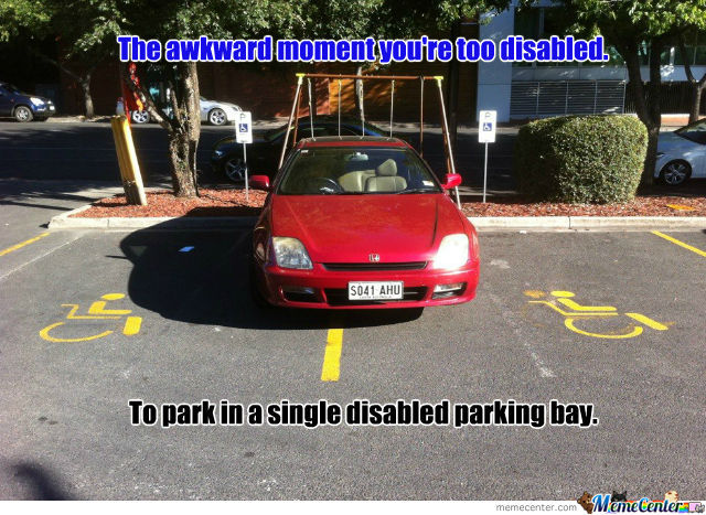 Too Disabled