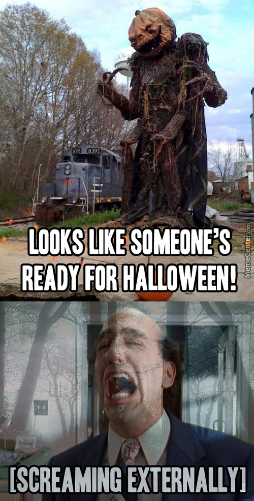 Too Good Of A Scarecrow