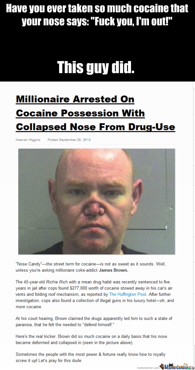 Too Much Cocaine