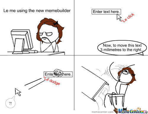 Took Me Forever To Make This Rage Comic -.-
