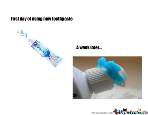 Toothpaste Probs