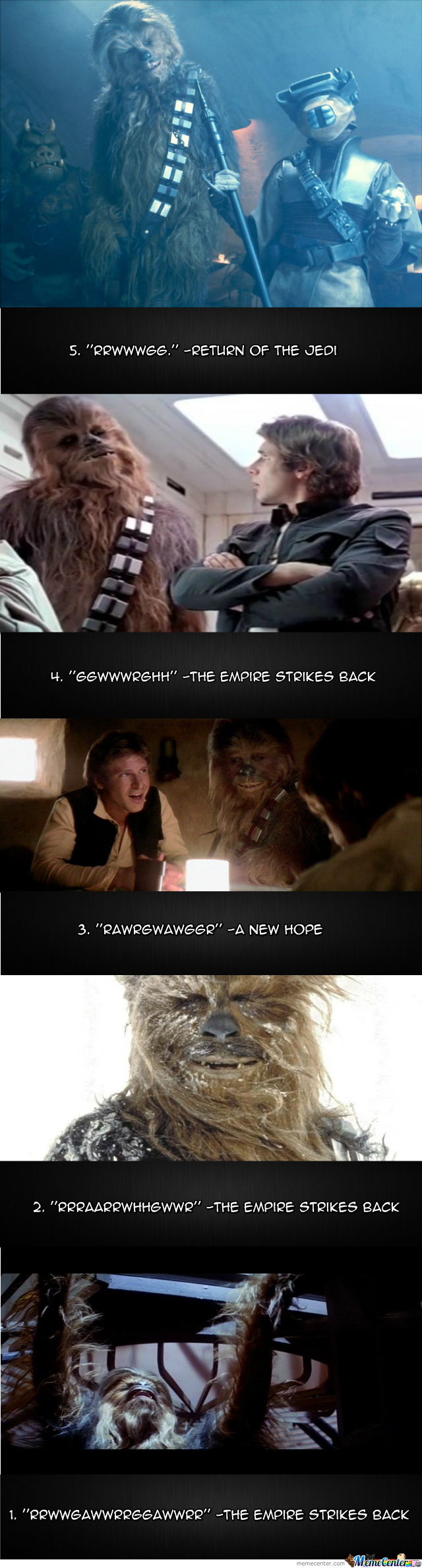 Top 5 Chewbacca Quotes