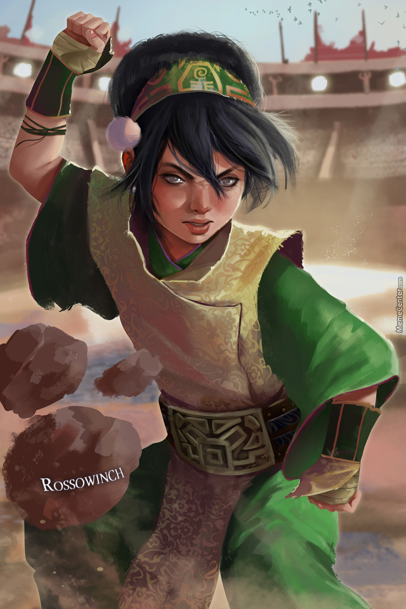 Toph Beifong Fan Art