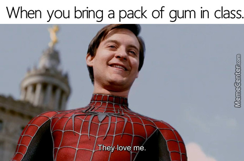 Totally Not For The Gum