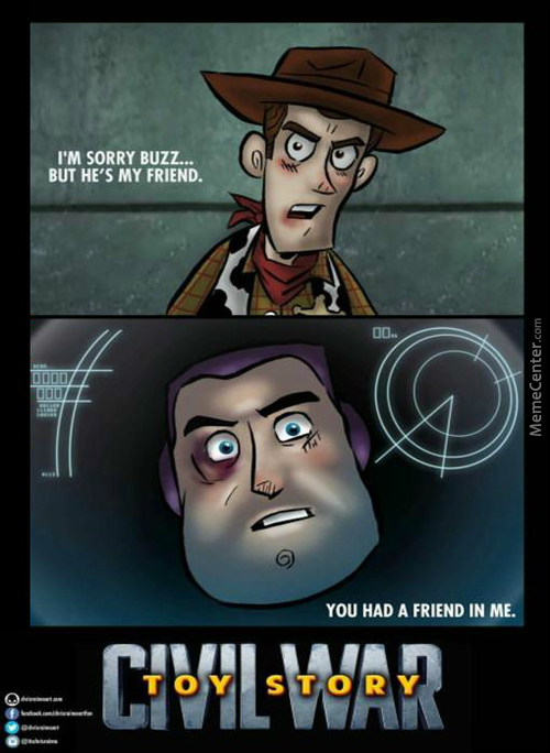 Toy Story: Civil War
