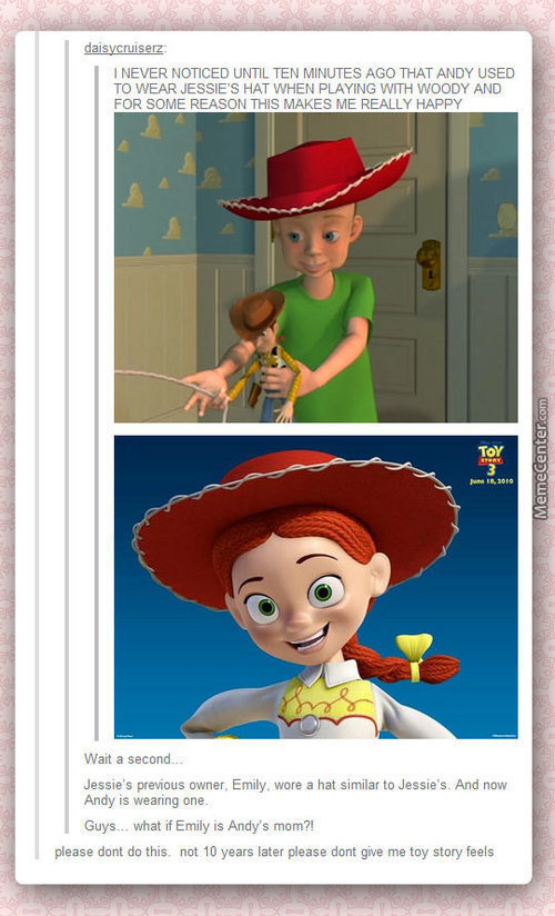 Toy Story Is Starting To Make Me Sad.