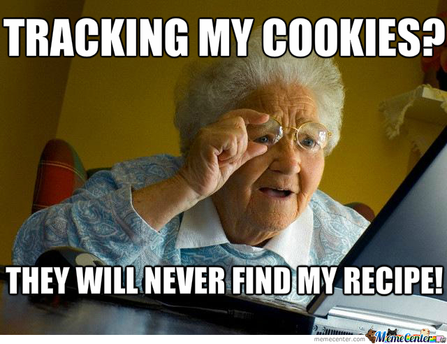 Tracking cookies by doityourself meme center tracking cookies solutioingenieria Image collections