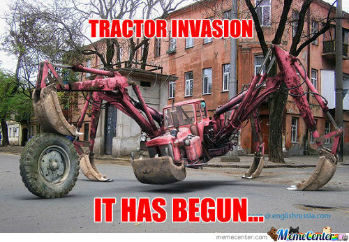 Tractor Invaasion