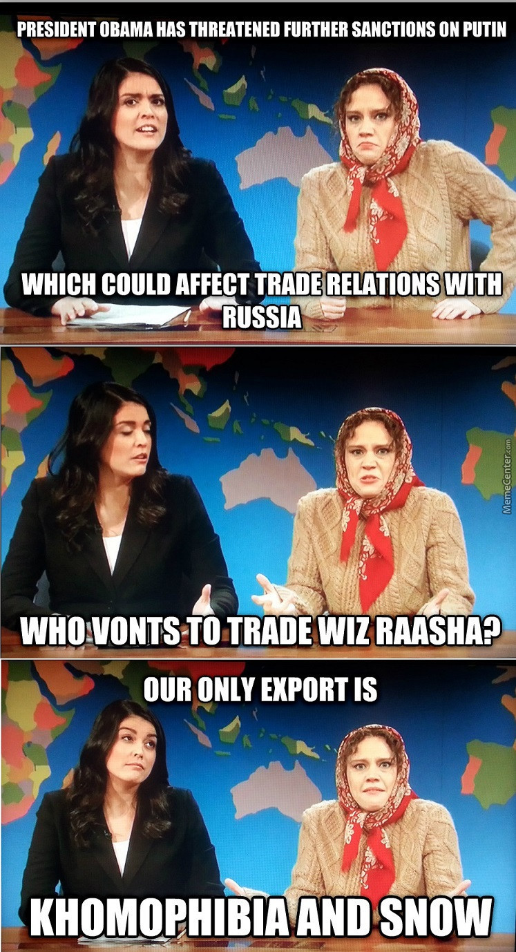 Trading With Russia