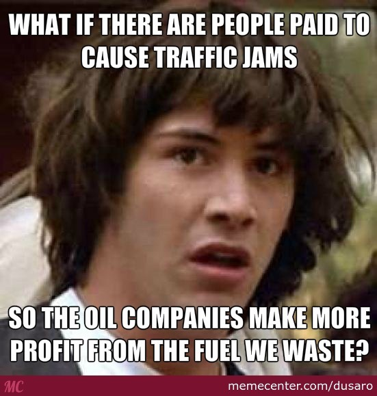 traffic jam conspiracy_o_2768571 traffic jam memes best collection of funny traffic jam pictures