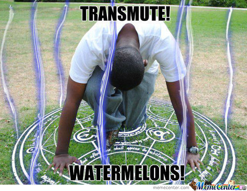 Transmute Watermelons