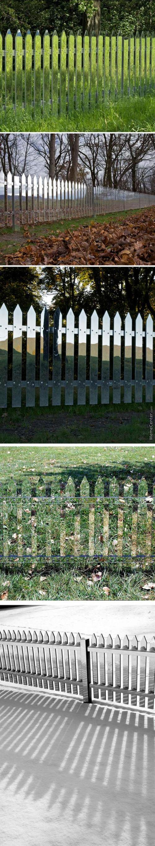 Transparent Fence