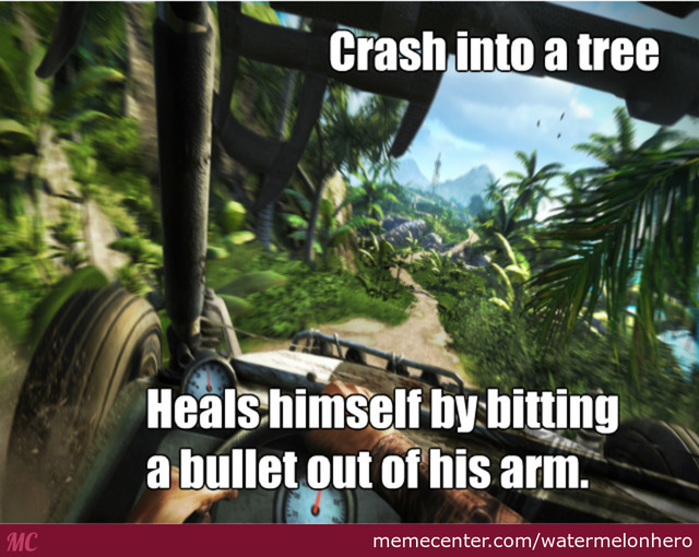 Trees In Far Cry 3 Gives You Free Bullets by recyclebin - Meme Center