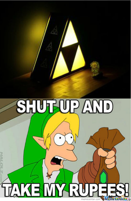 Triforce Lamp. So Much Want.