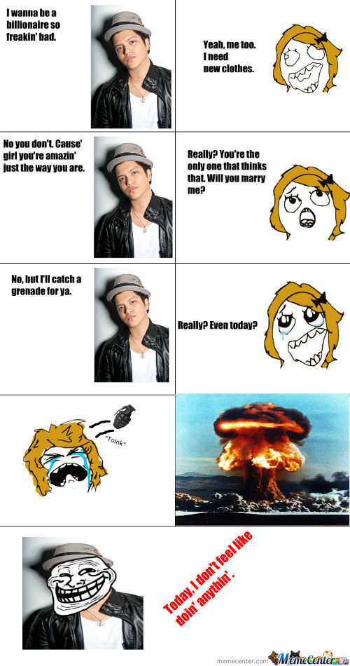 Troll Bruno Strikes!