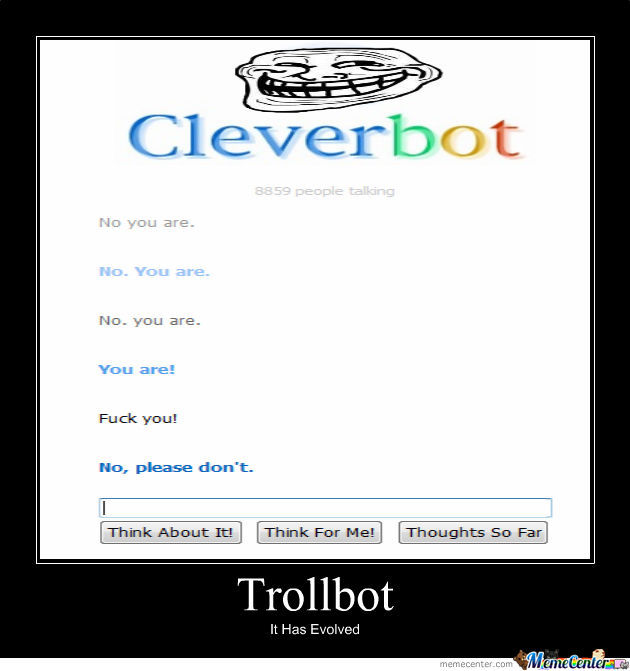 Troll Cleverbot