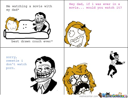 Troll Dad Strikes Again.