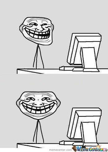 Troll full face by blackmoon meme center troll full face voltagebd Image collections