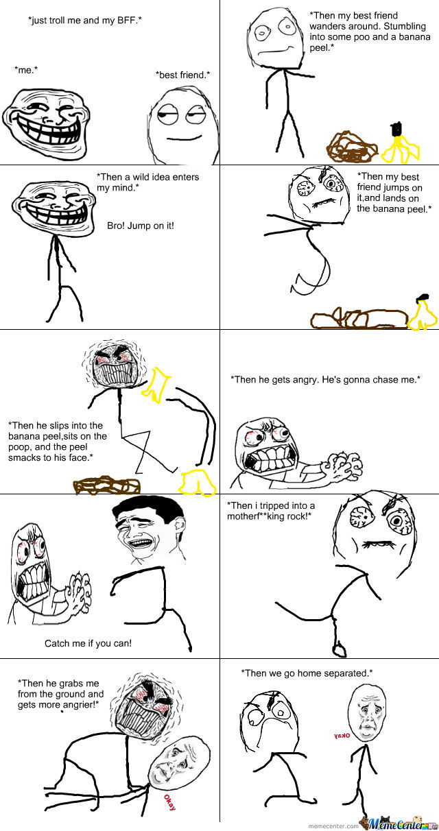 Troll Joke Gone Wrong