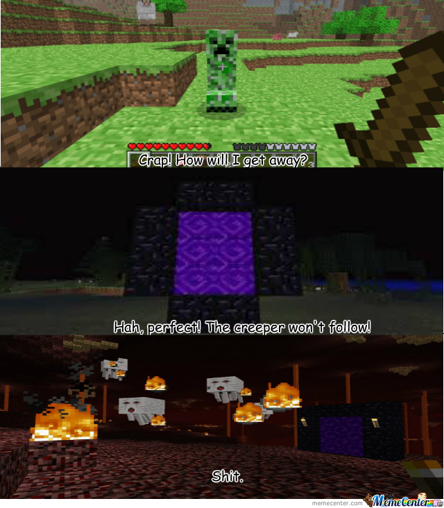 Troll Minecraft By Ally Cat 4 Meme Center