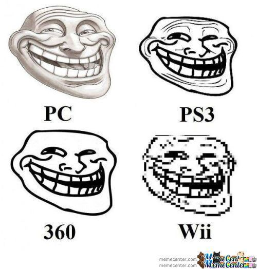 Troll On Different Devices