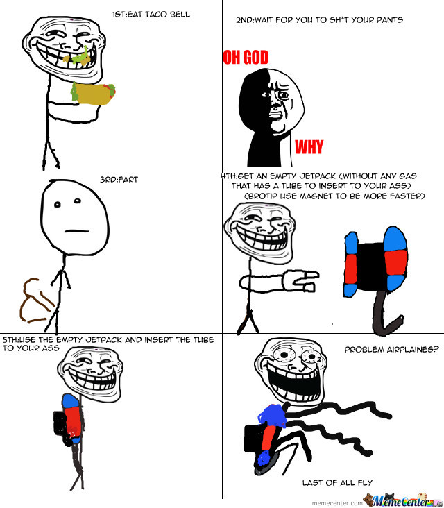 troll physics 1 how to fly by kayceesalustiano meme center