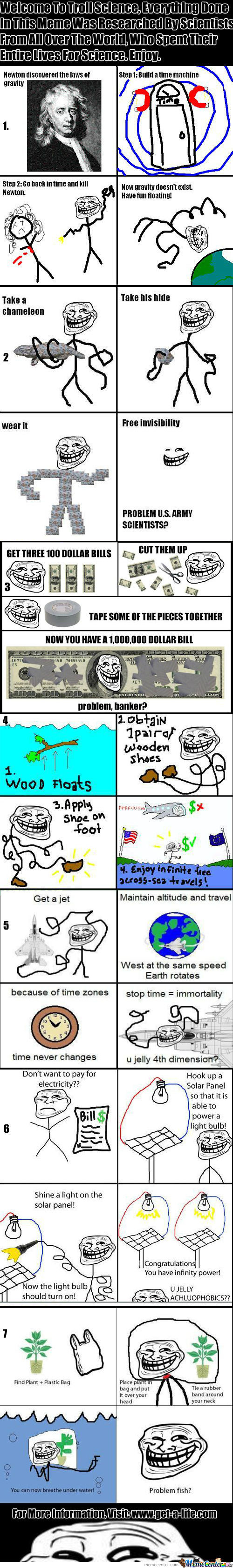 Troll Science: Lesson 1