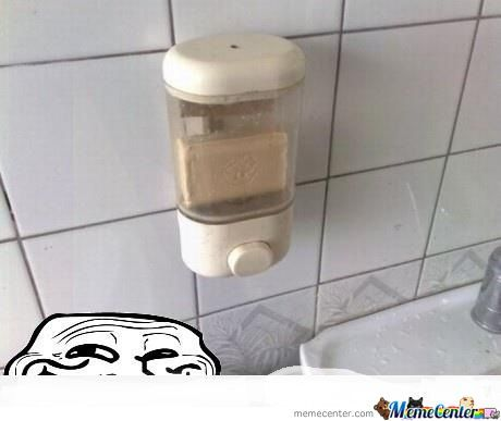 Troll Soap Dispenser