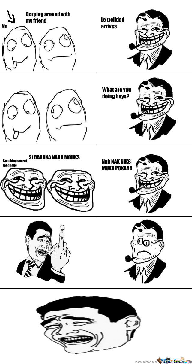 Trolled Troll Dad