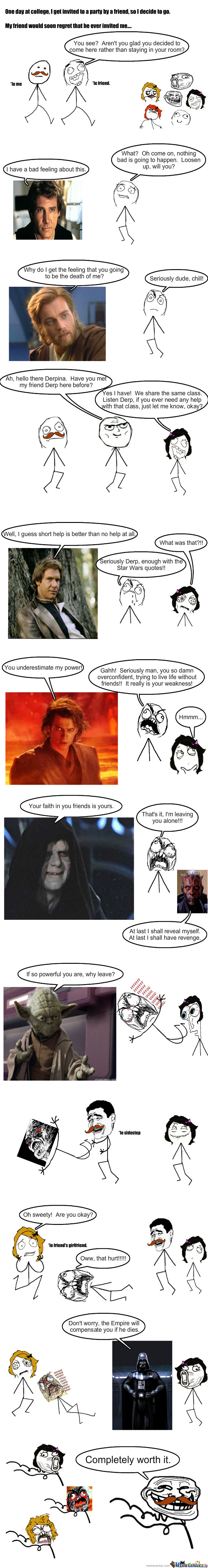 Trolling Level: Star Wars