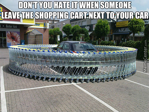 Trolling Lvl: Shopping Cart