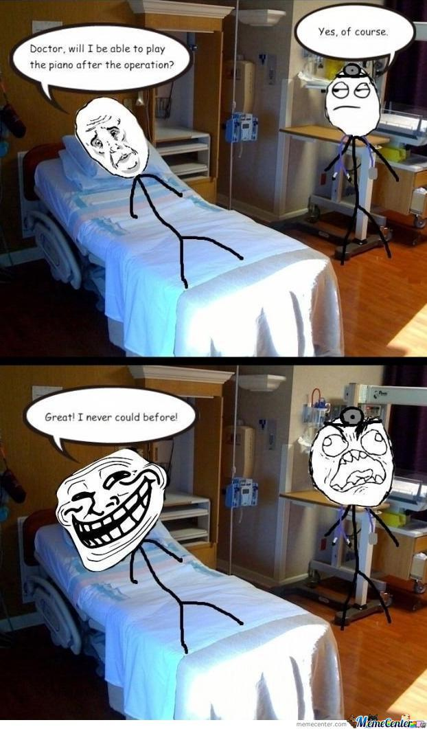Trolling The Doctor