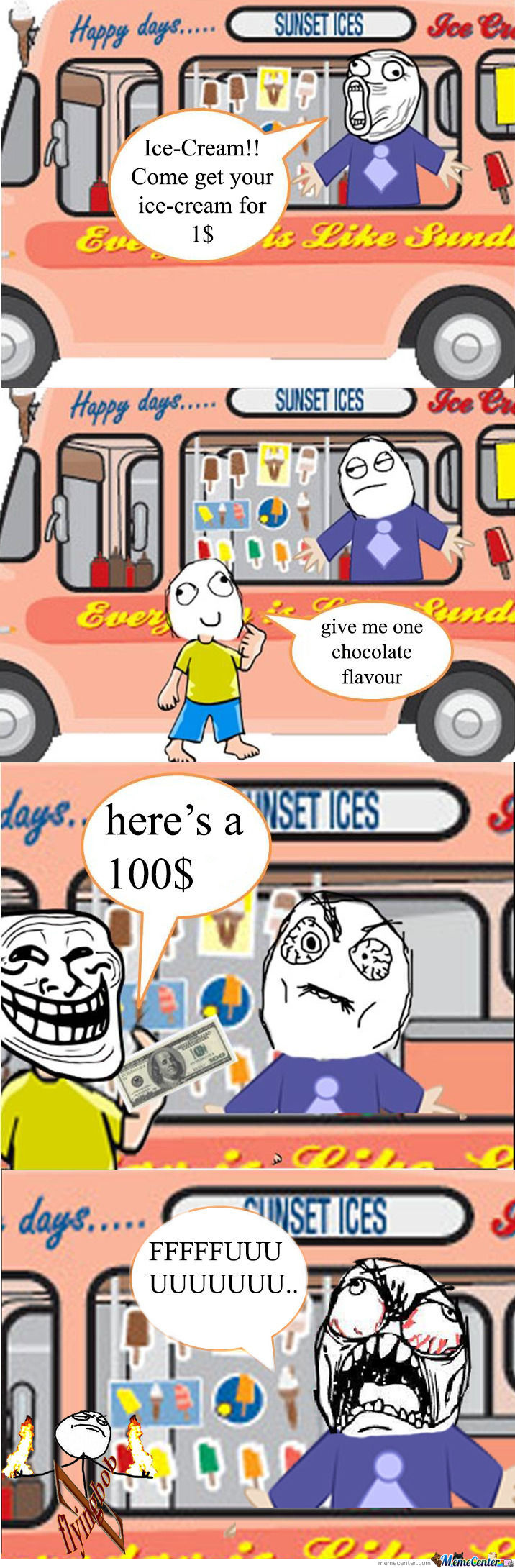 Trolling The Ice-Cram Man