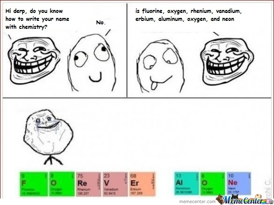 Trolling With Chemistry