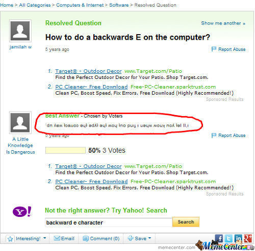 Trolling Yahoo Answers Like A Boss