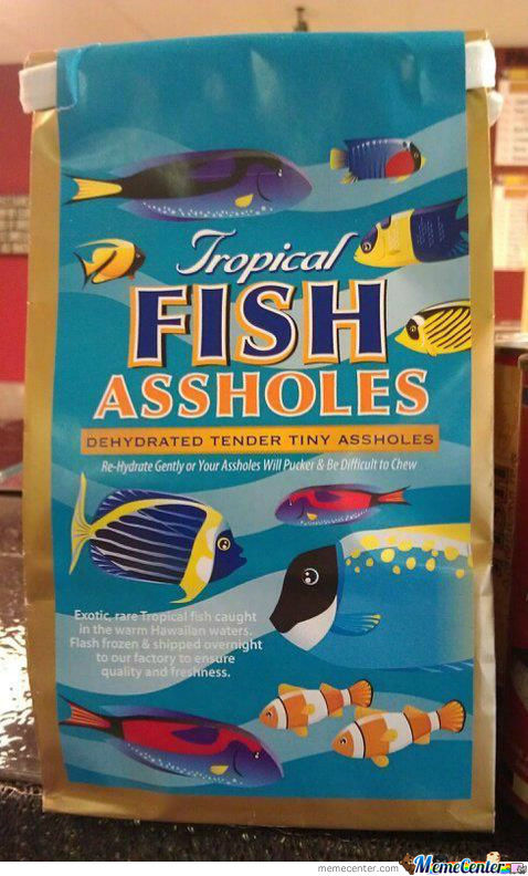 Tropical Fish...what?!