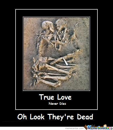 True Love Never Dies? .... Think Again