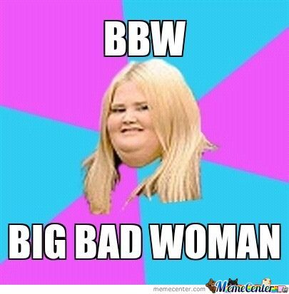 What is the meaning of bbw