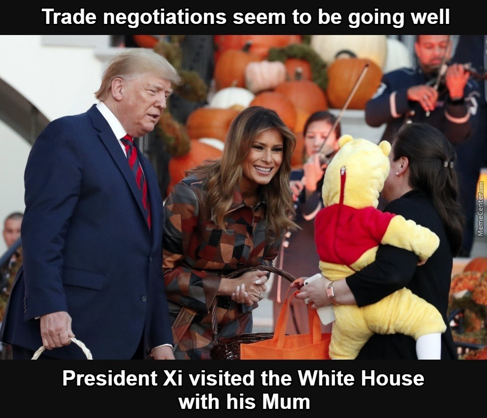 Trump Welcomes Master Xi