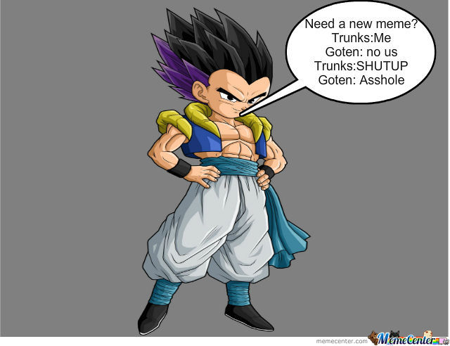 Trunks: Epic Title, Goten: No Funny Title