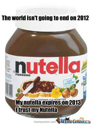 Trustworthy Nutella