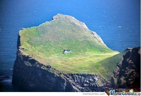 Try To Live On This House, In This Land, On Island